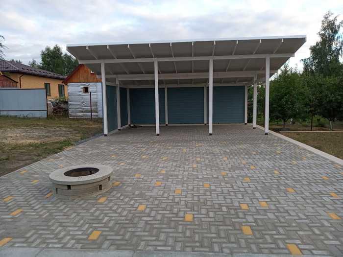 Строительство большой беседки и площадки перед ней Беседка, Строительство, Рукоделие с процессом, Длиннопост