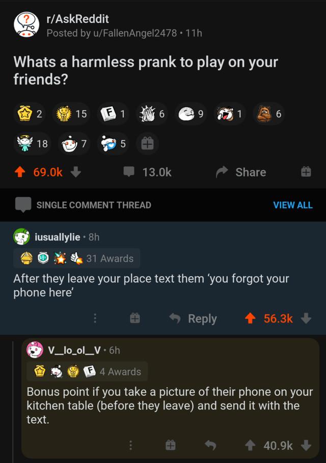 Как безобидно разыграть друзей?