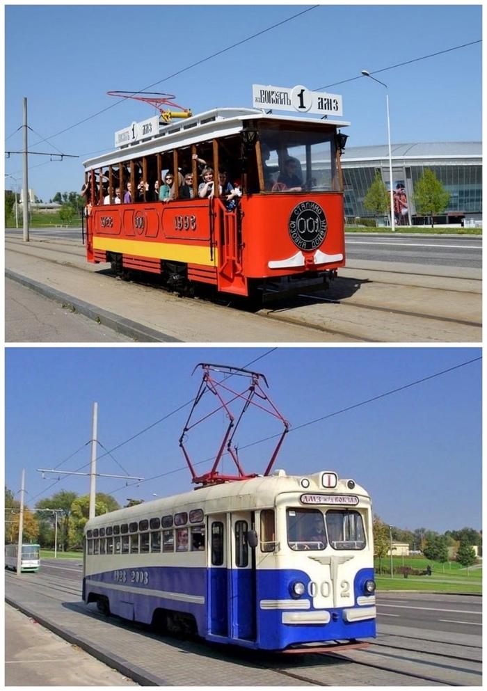 Донецкие ретро-трамваи