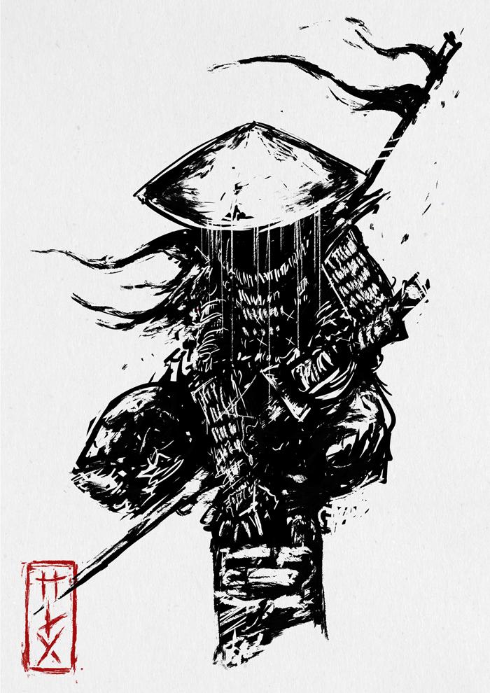 Самурайские скетчи