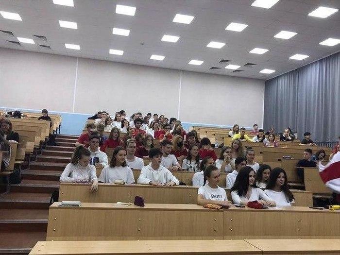 Студенты белорусского ВУЗа