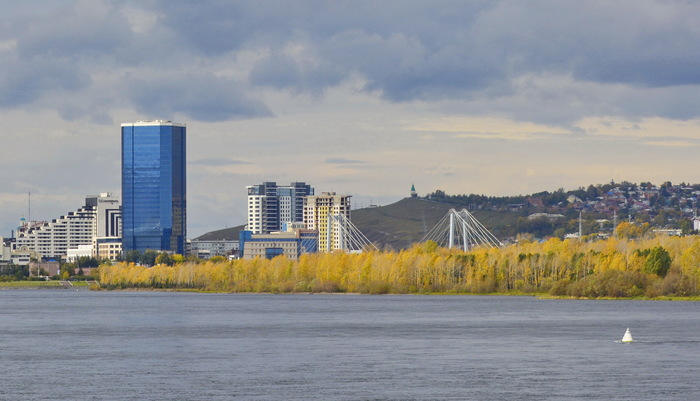 Осенний Красноярск