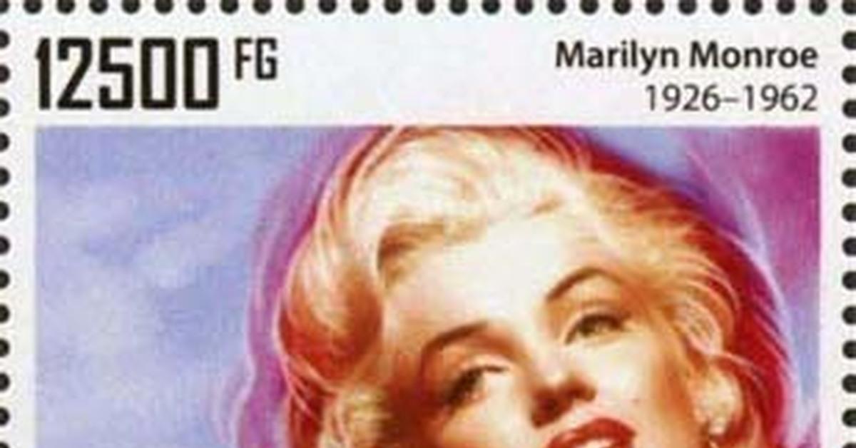 """ММ на почтовых марках (XXV) Цикл """"Великолепная Мэрилин"""" - Выпуск 239"""