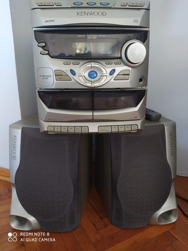 Установка MP3-Bluetooth модуля в музыкальный центрKenwood RXD-351