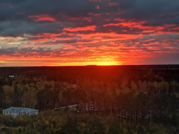 Минута до восхода Солнца