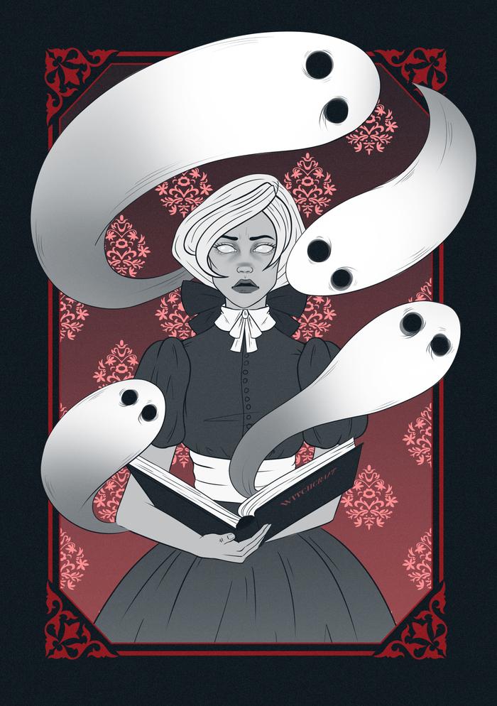 Девушка с призраками