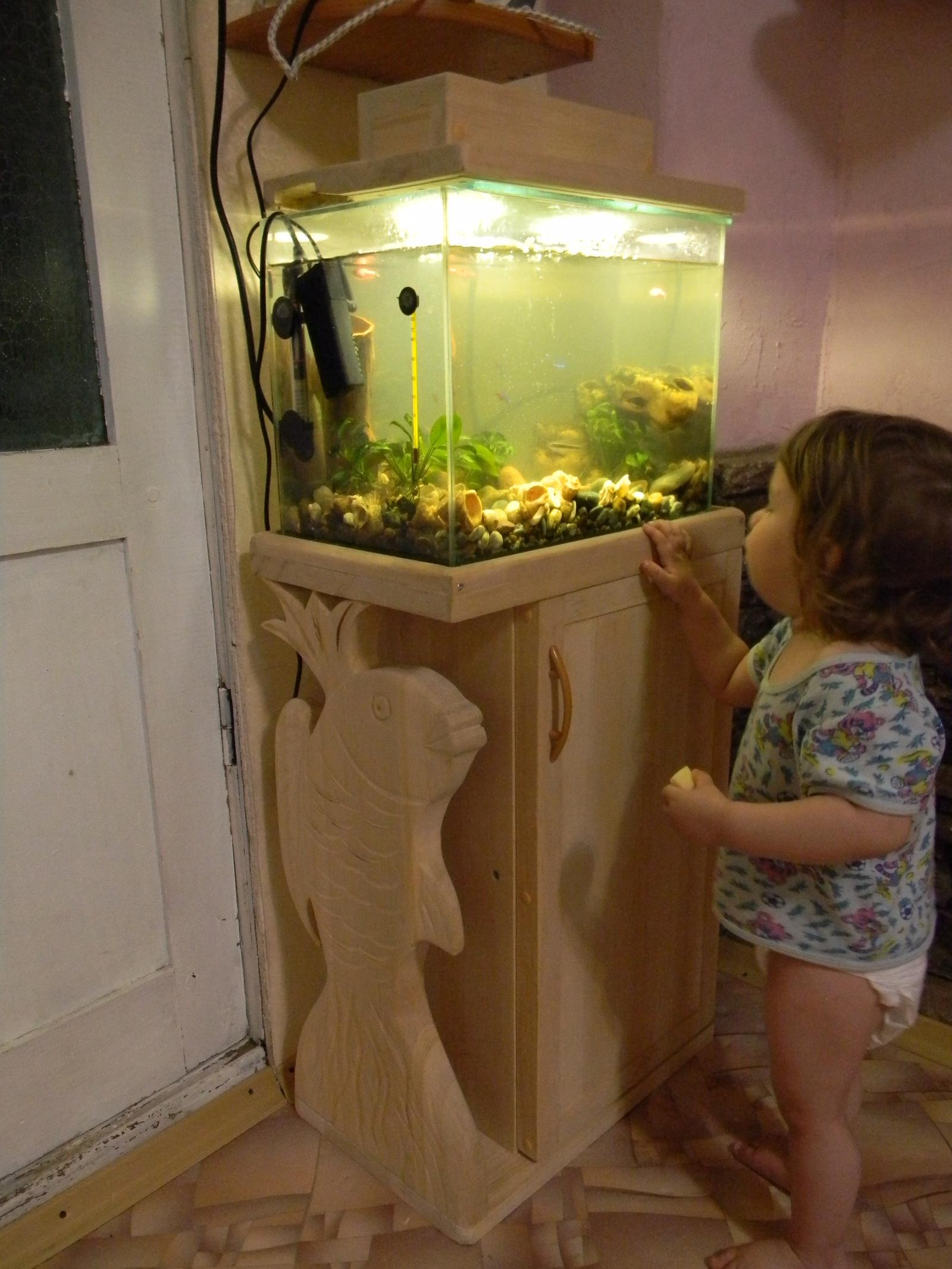 Тумба для аквариума из ДСП своими руками: пошаговая инструкция 19