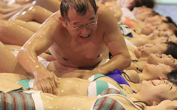 Азиатское секс шоу один в один