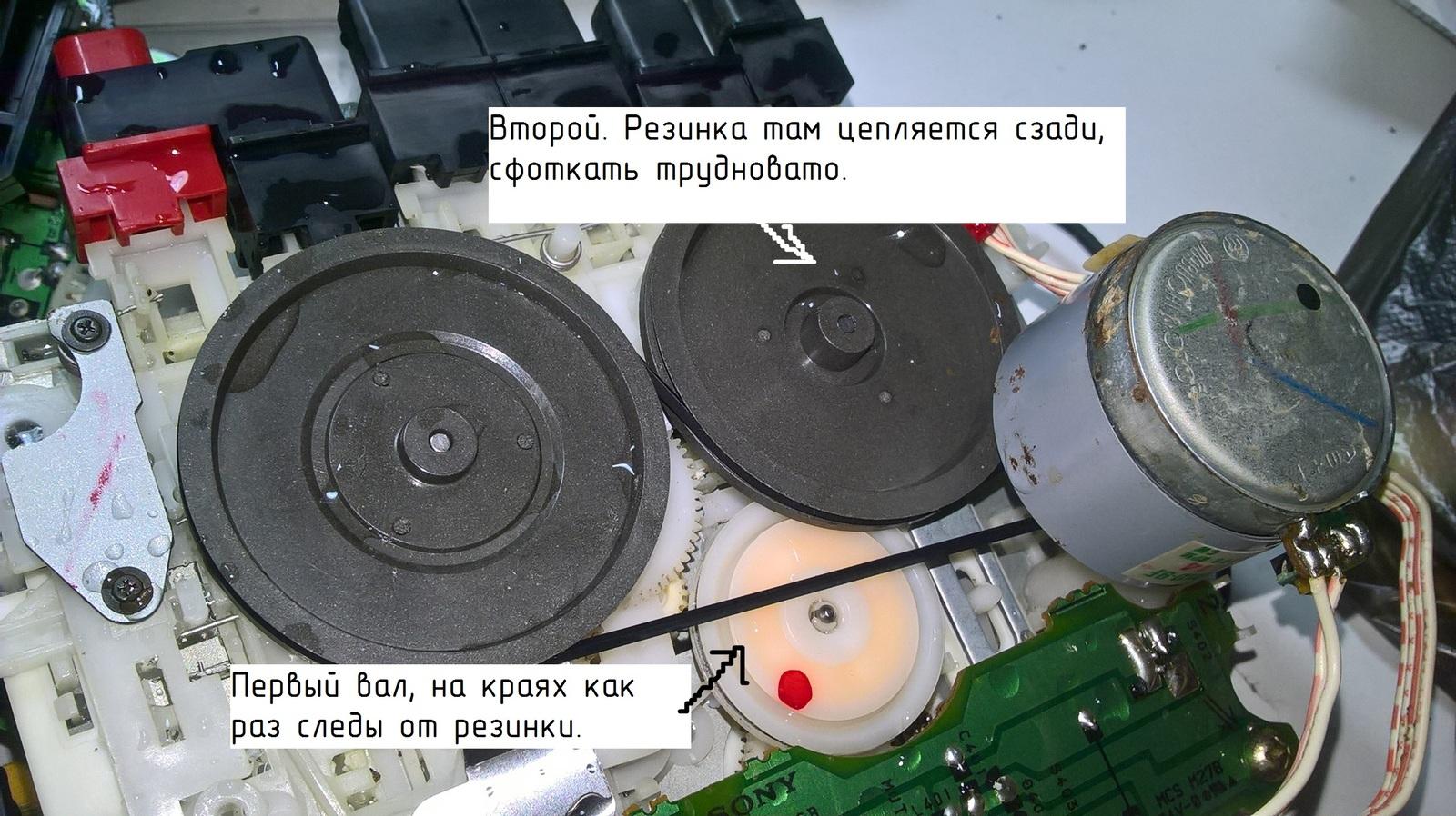 Как сделать пассик для магнитофона своими руками
