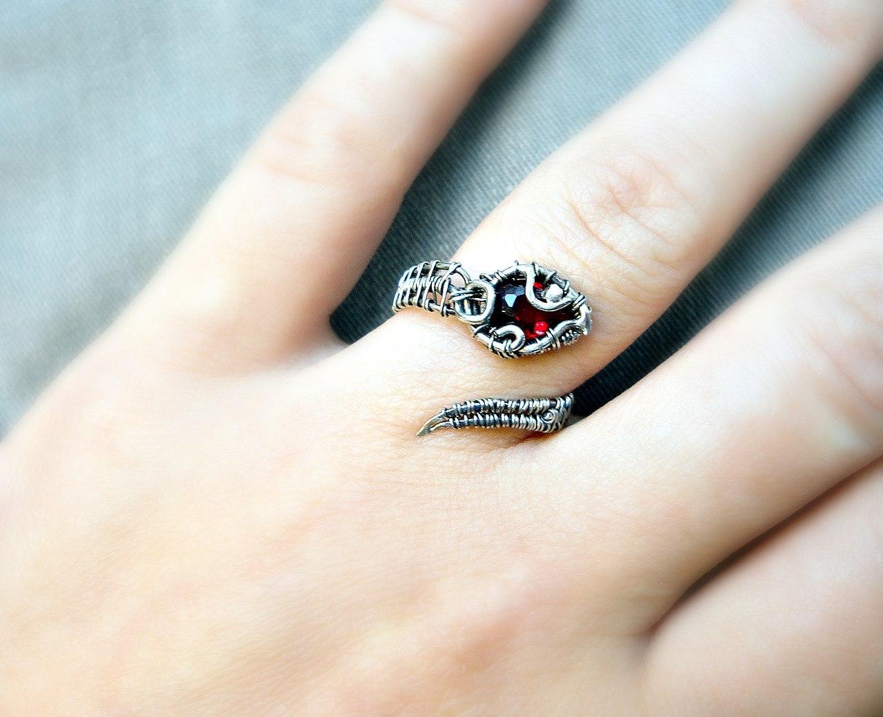 Оригинальное кольцо своими руками фото 964