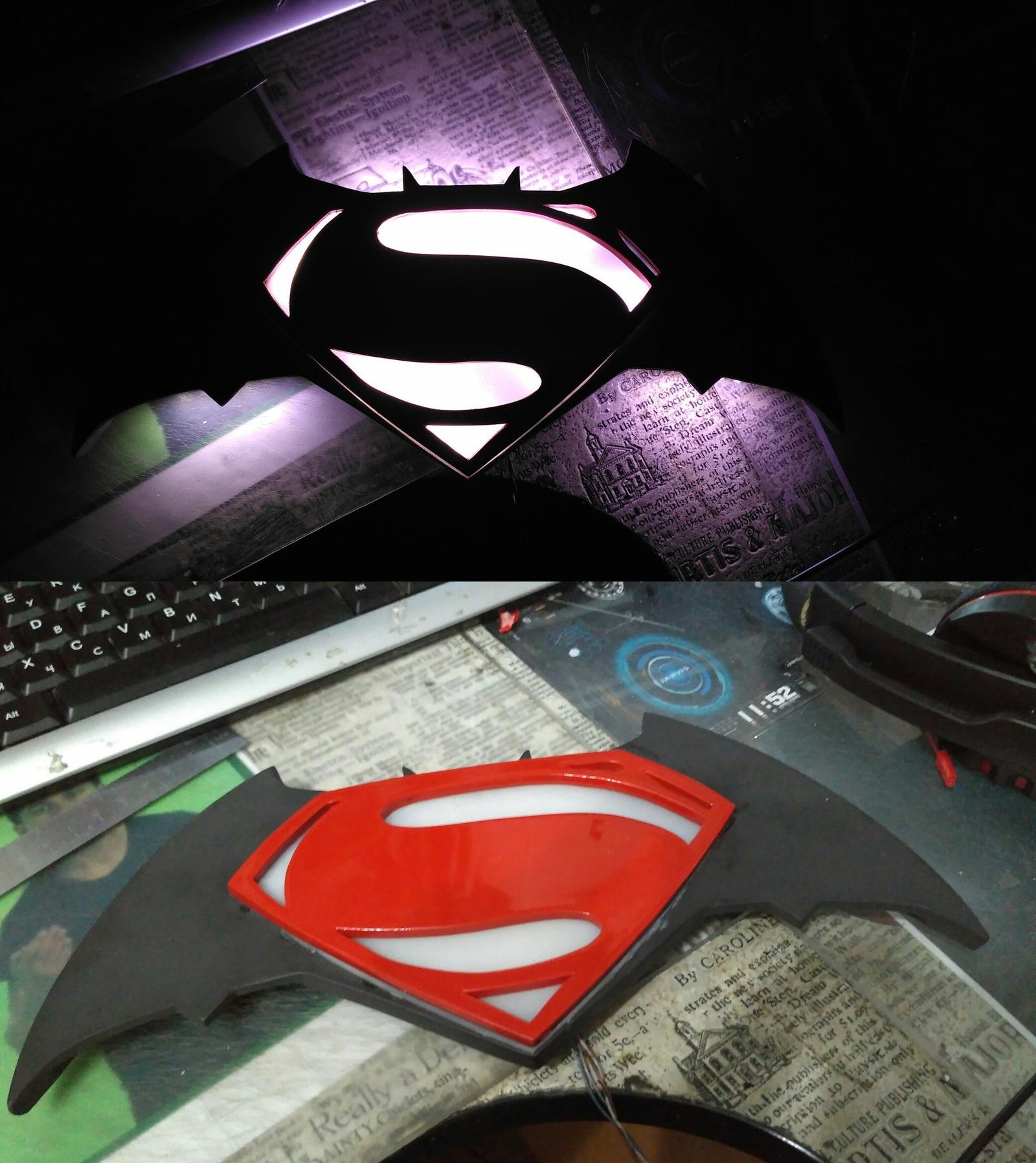 Светильник бэтмен своими руками