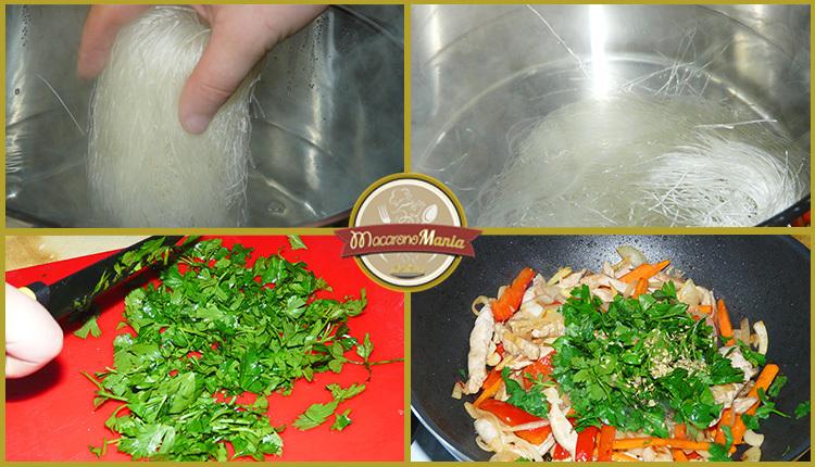 Свинина в соусе терияки с лапшой удон рецепт
