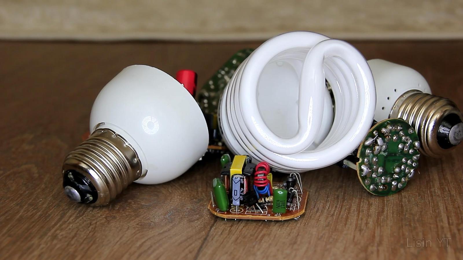 Из энергосберегающей светодиодную своими руками фото 764