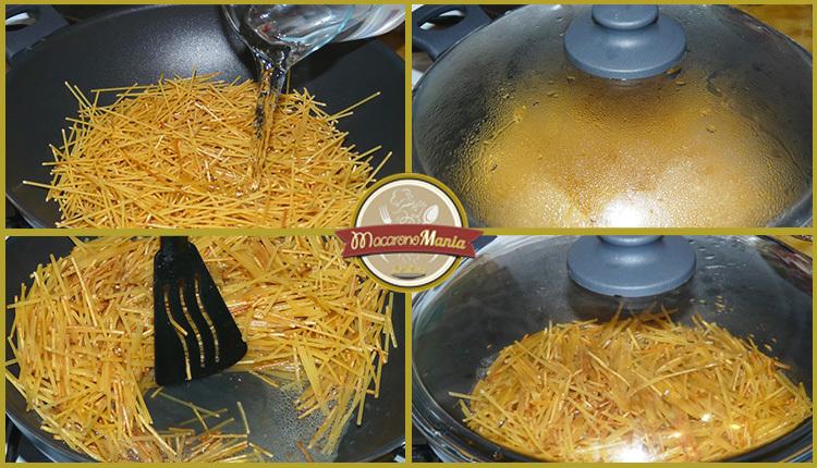 Пошаговый кулинарный рецепт с фото приготовления макарон с сосисками.