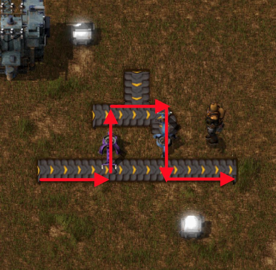factorio счетчик конвейера
