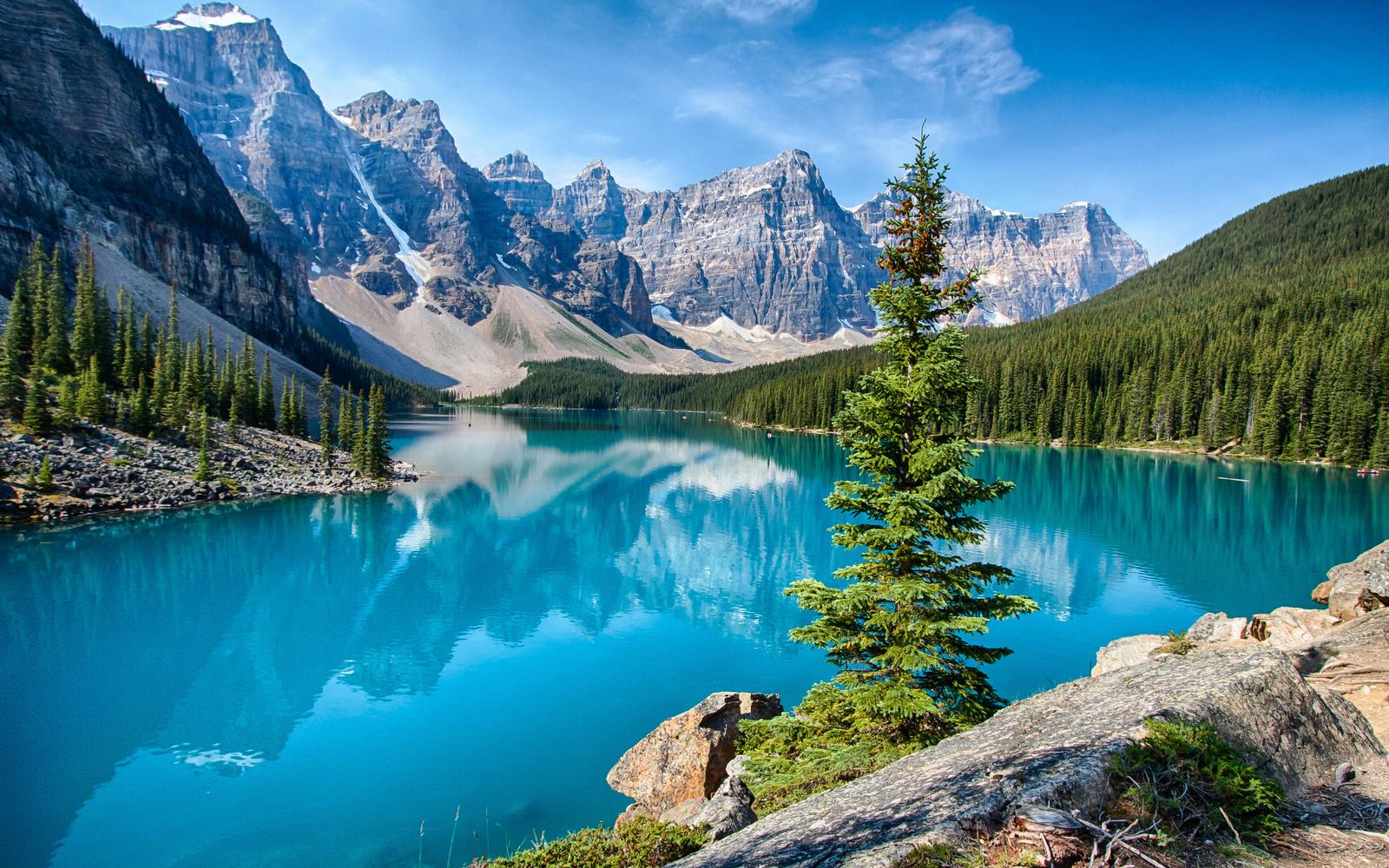 озеро и горы картинки