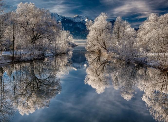 Красоты зимы.