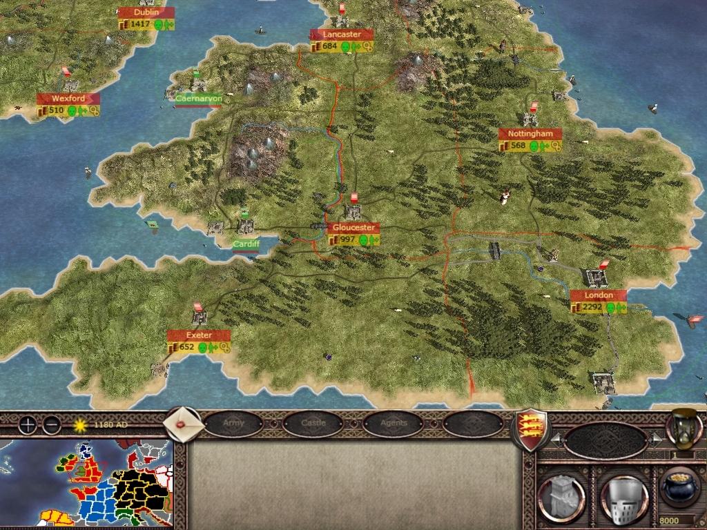 Как я мир заключал в Medieval 2: Total War