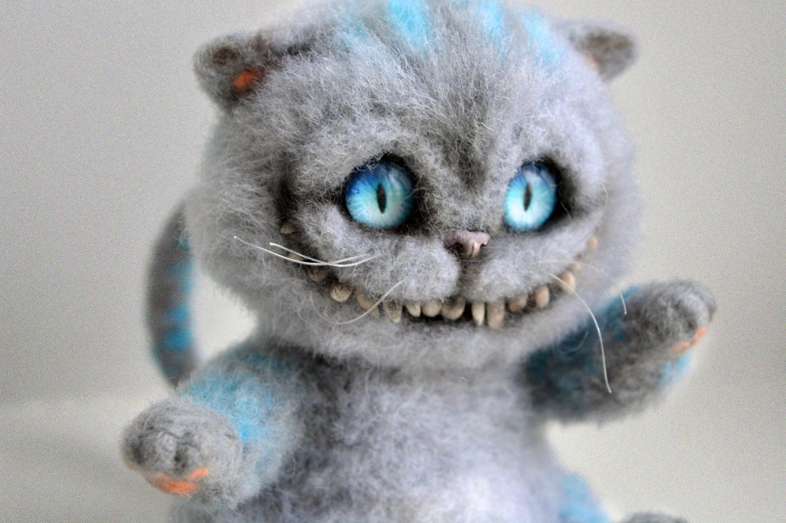 Кот из войлок