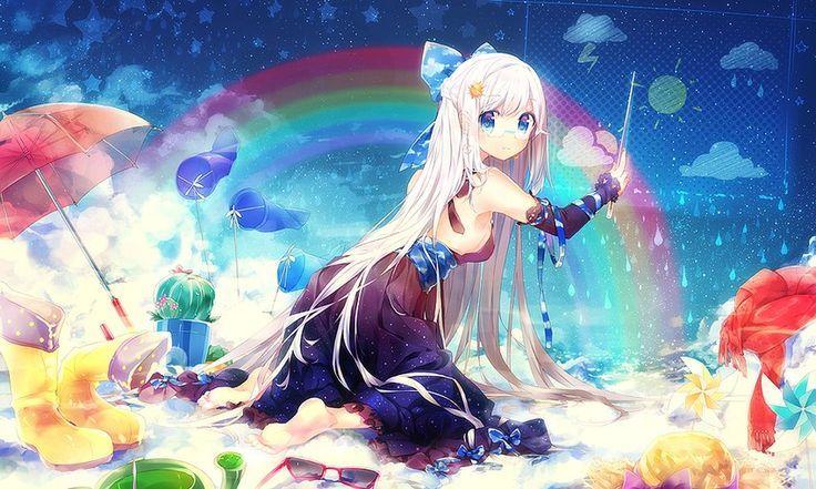 красивые аниме картинки арты
