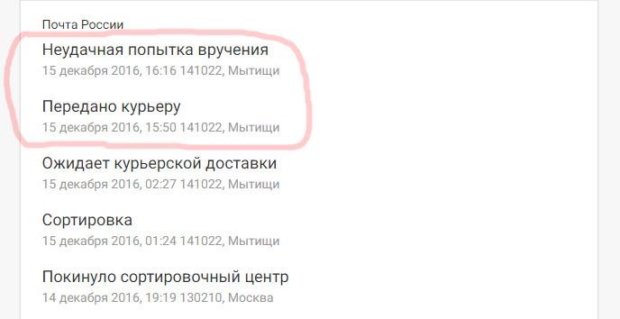 Почта россии что значит неудачная попытка вручения каталог монет ссср 2014