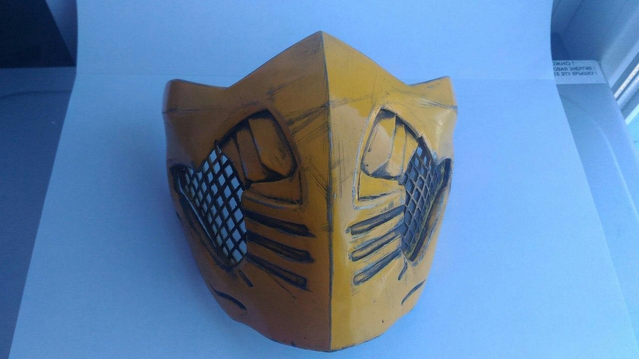 Как сделать маску скорпиона из мортал комбат фото 362