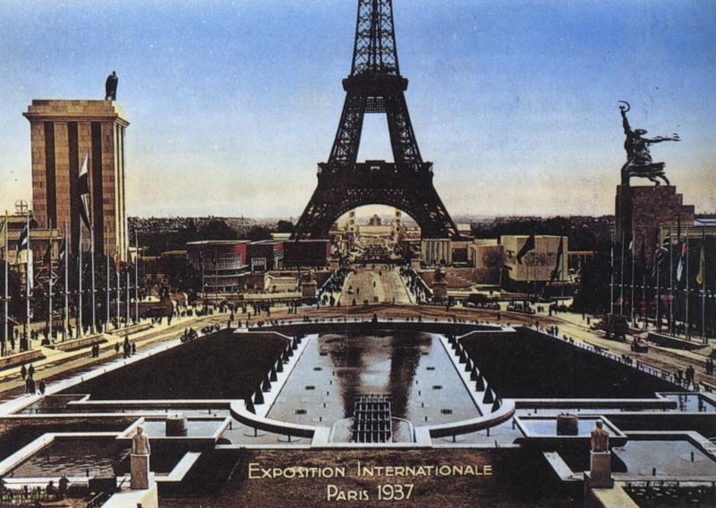 Image result for фото всемирная выставка в париже рабочий и колхозница