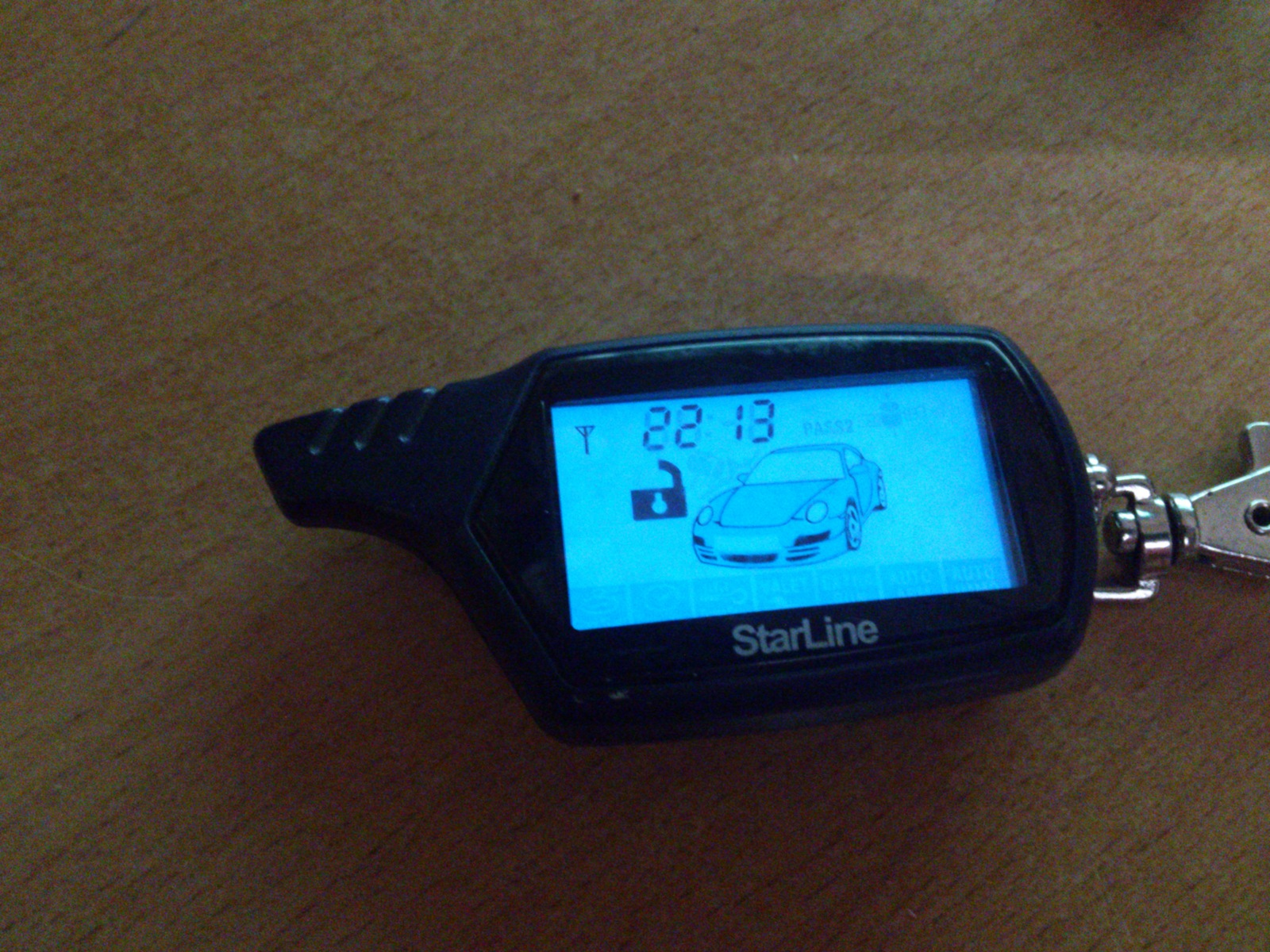 Брелок автосигнализации Старлайн – аналог пульта управления телевизором