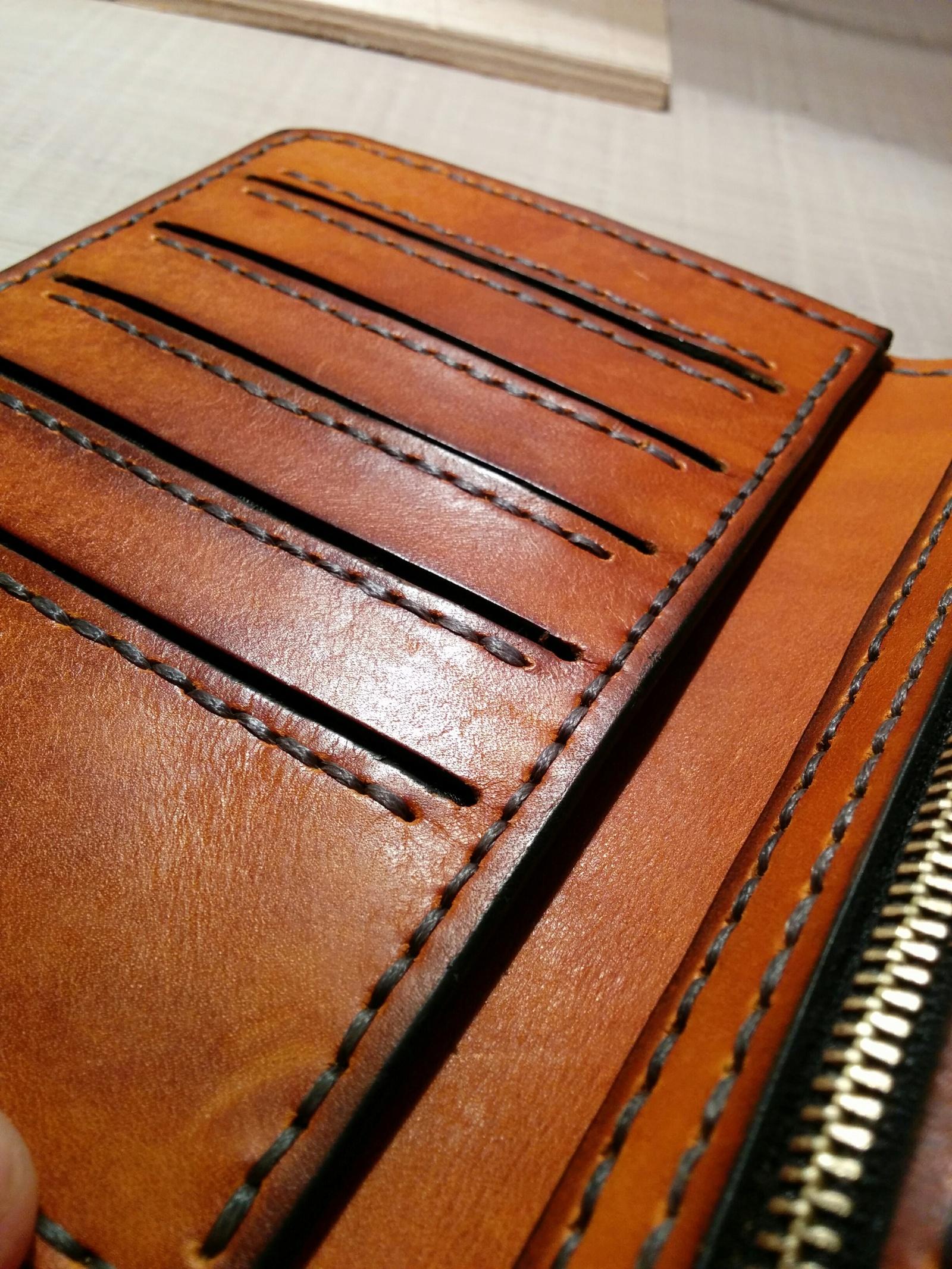 кожаные портмоне своими руками