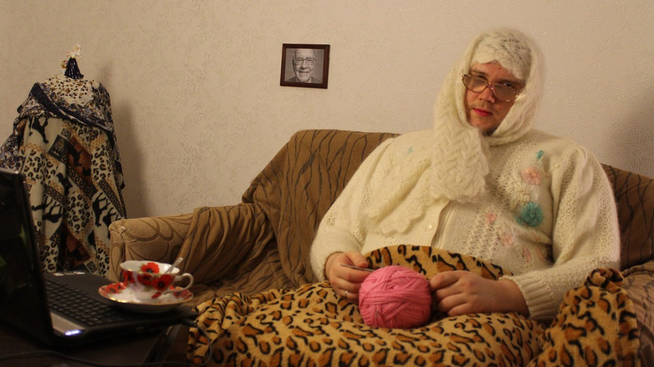 Видео бабушка хуябушка фото 340-694