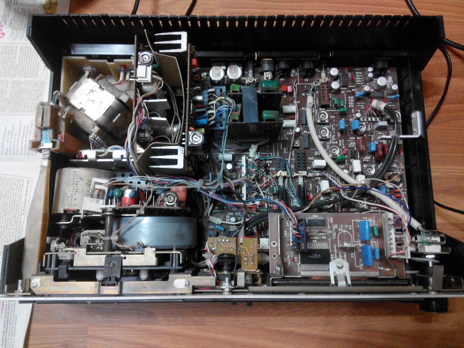 Схема магнитофона маяк 240 с 1 фото 459