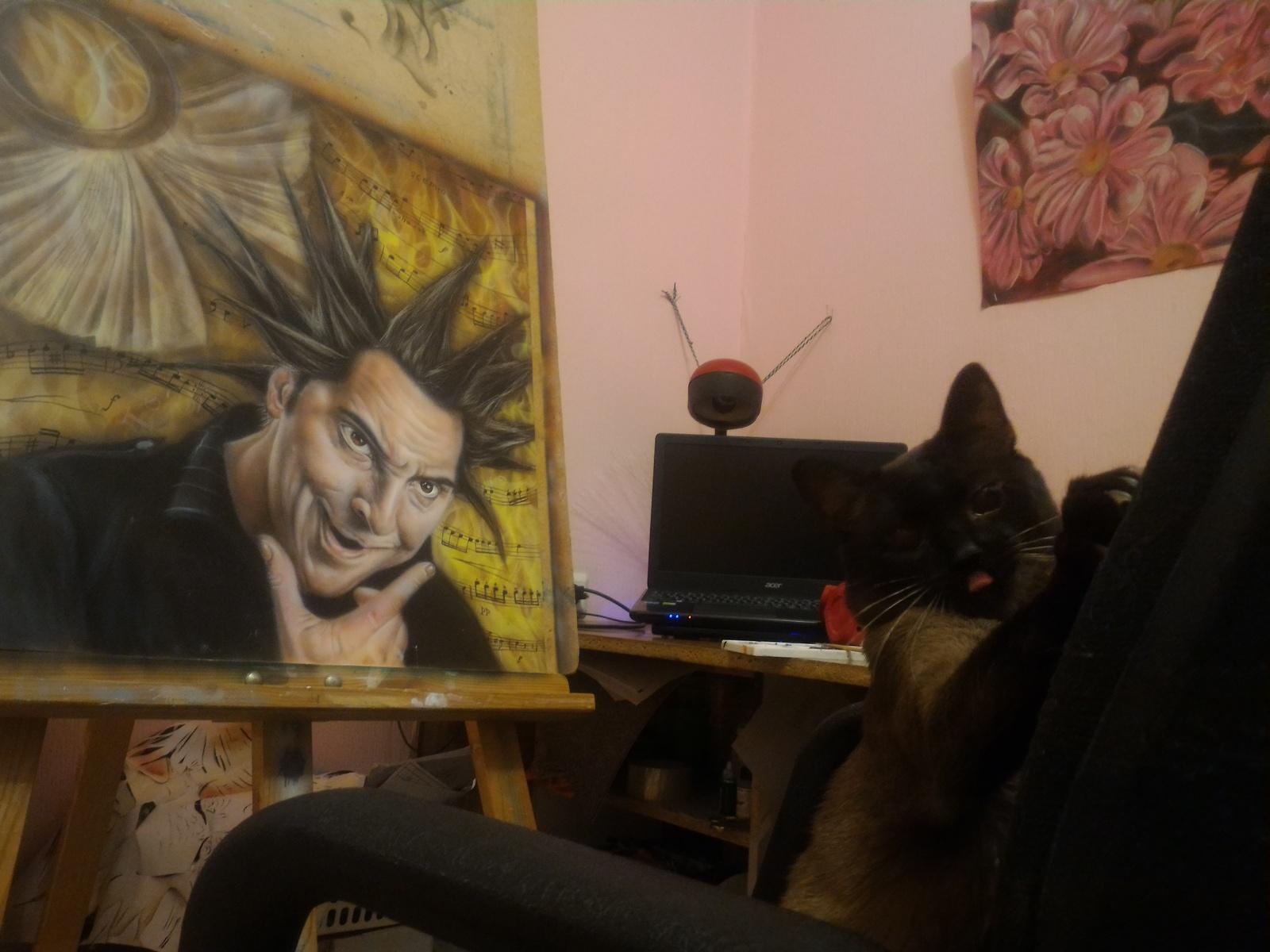Король и шут черного кота