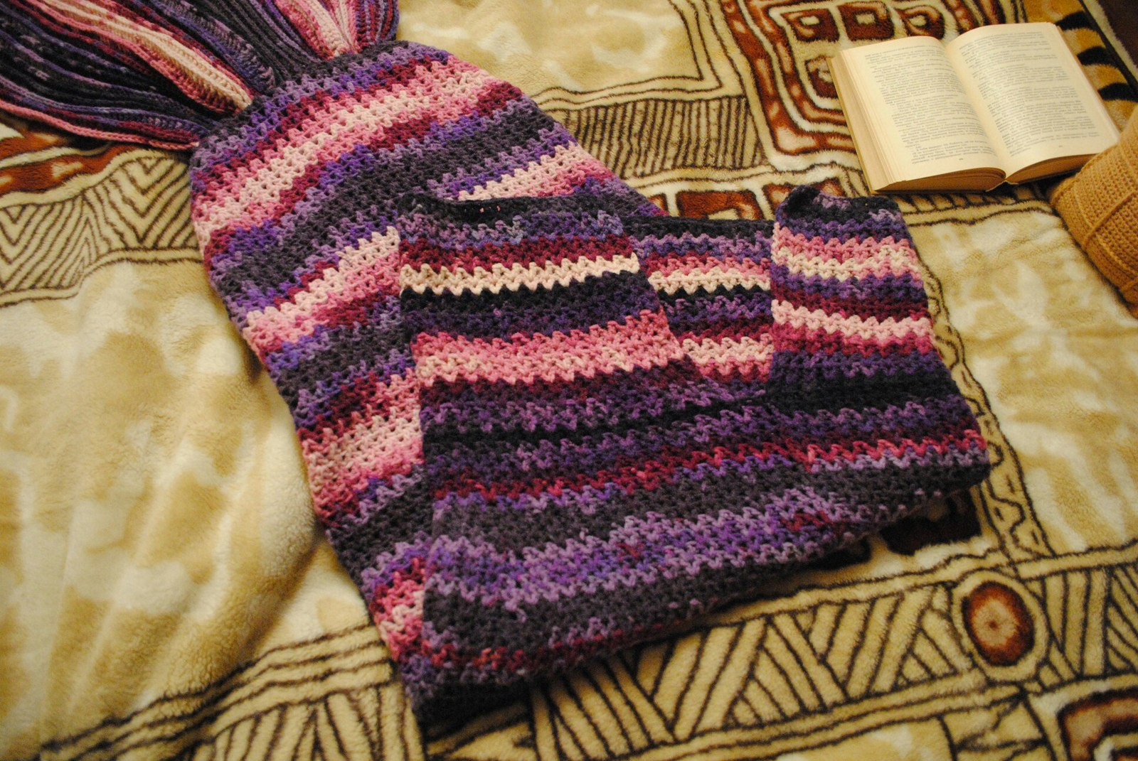 Плед хвост русалки схема вязания фото 959