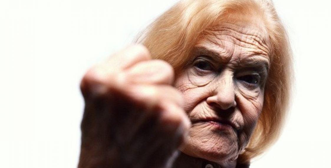 Бабушка тирахает внук фото 147-107