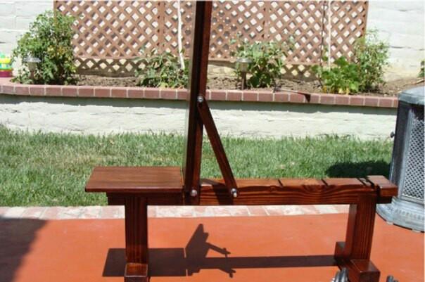 Скамья для жима лежа - Изготовление универсальной скамьи - Сделай Сам 57