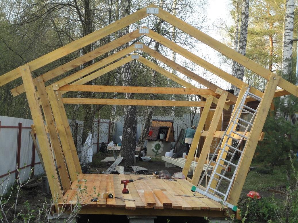 Крыша 6х3 своими руками