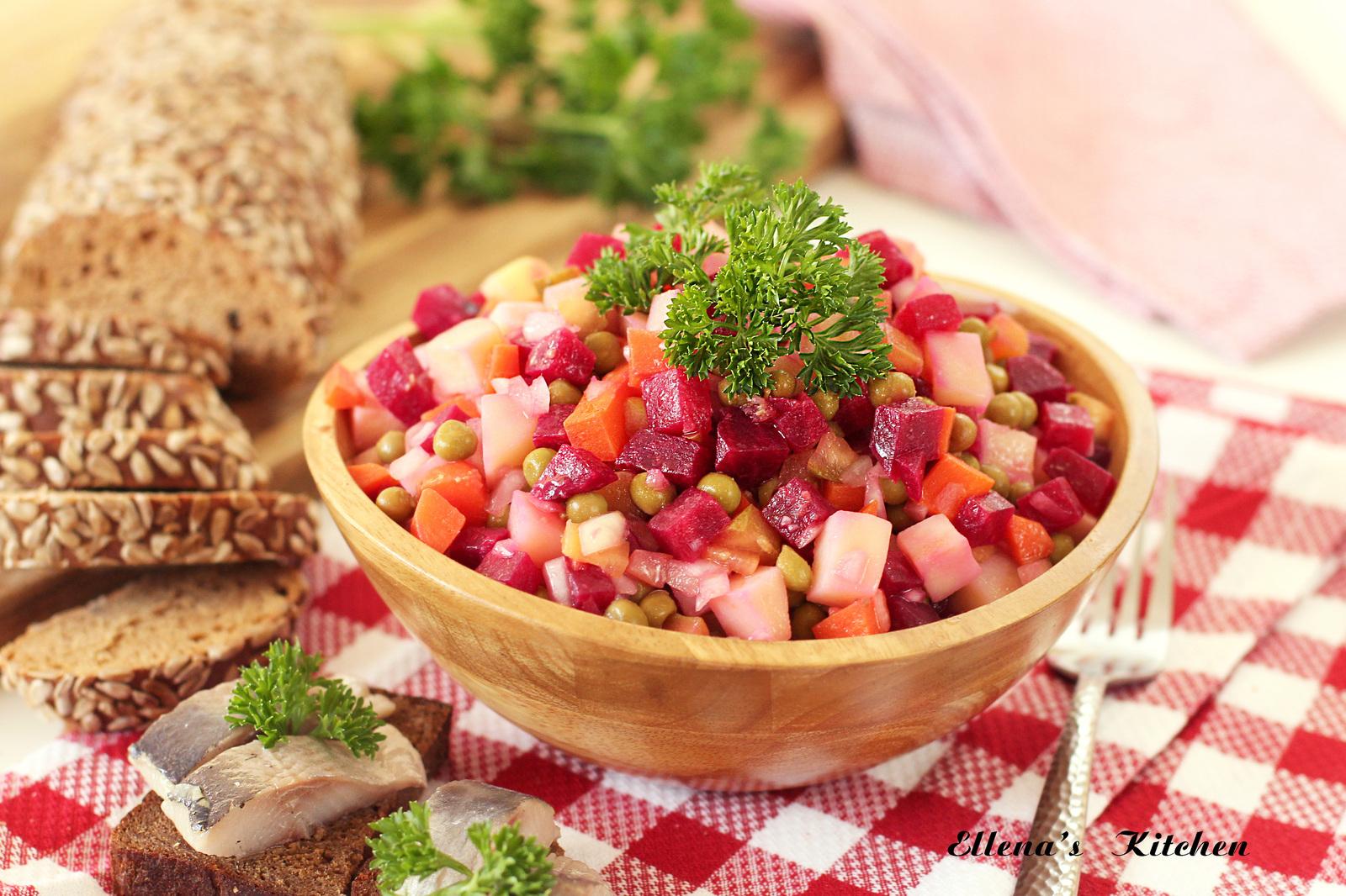 Варить овощи на винегрет