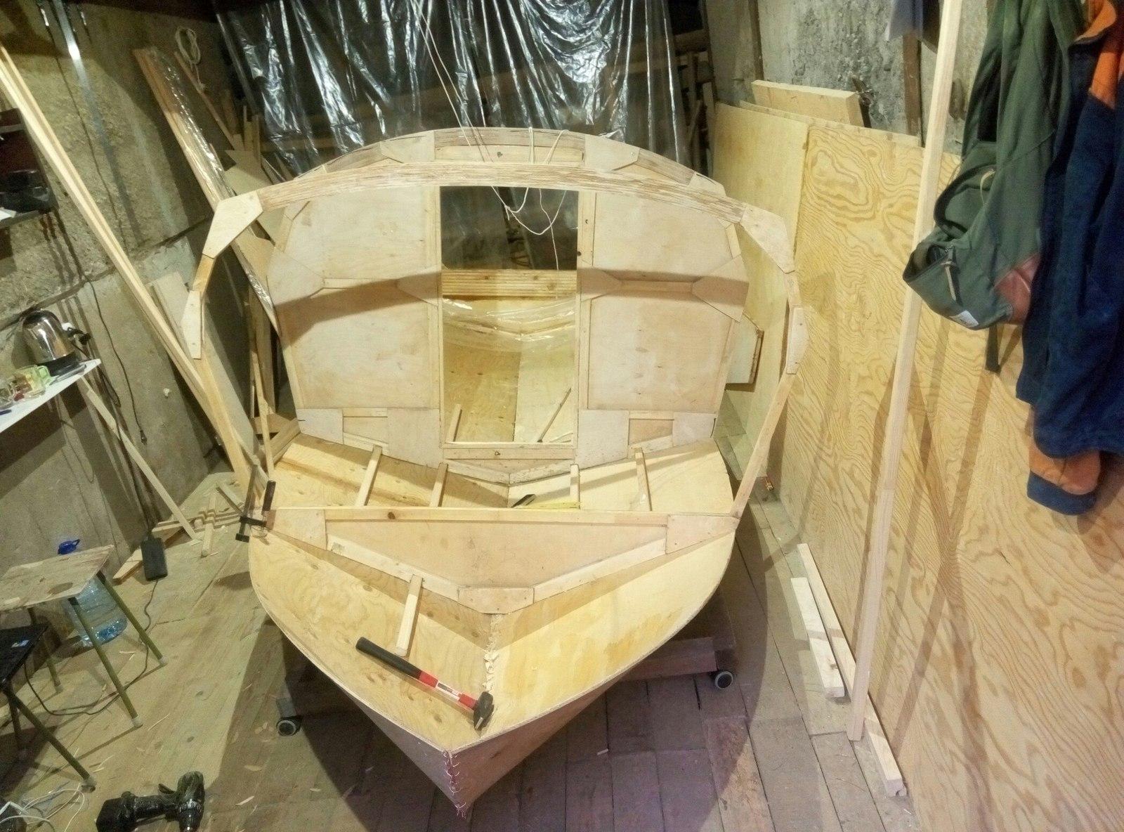 Лодка из фанеры своими руками чертежи бесплатно