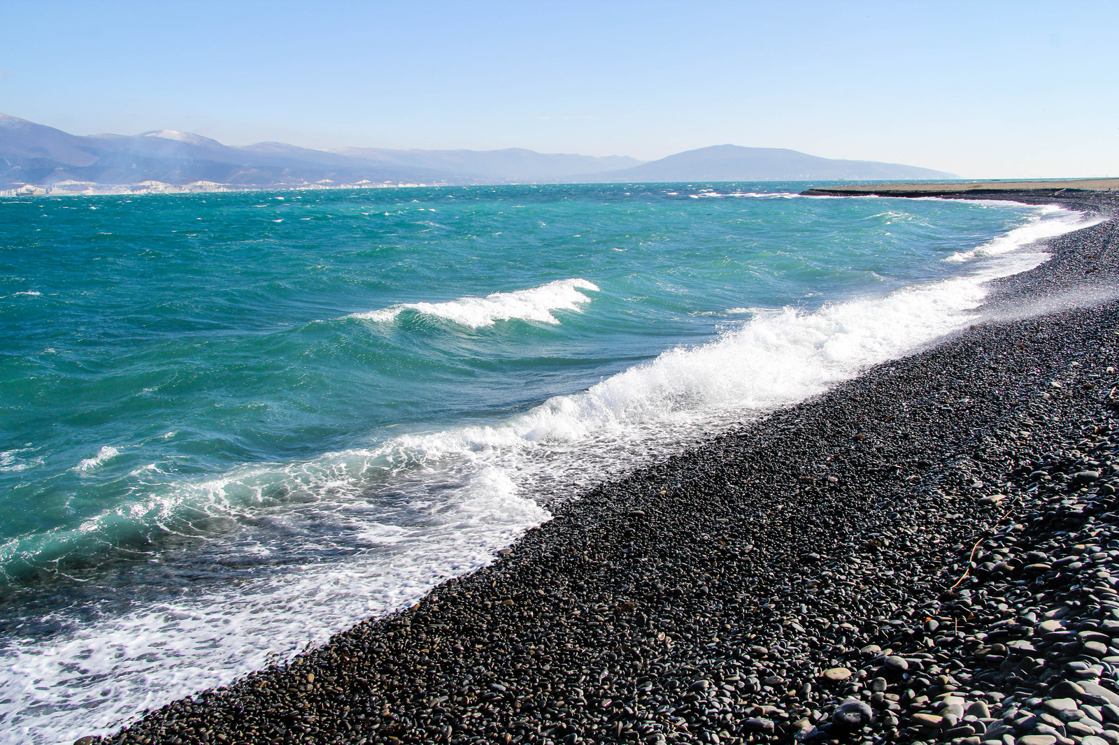 фото море пляж черное море