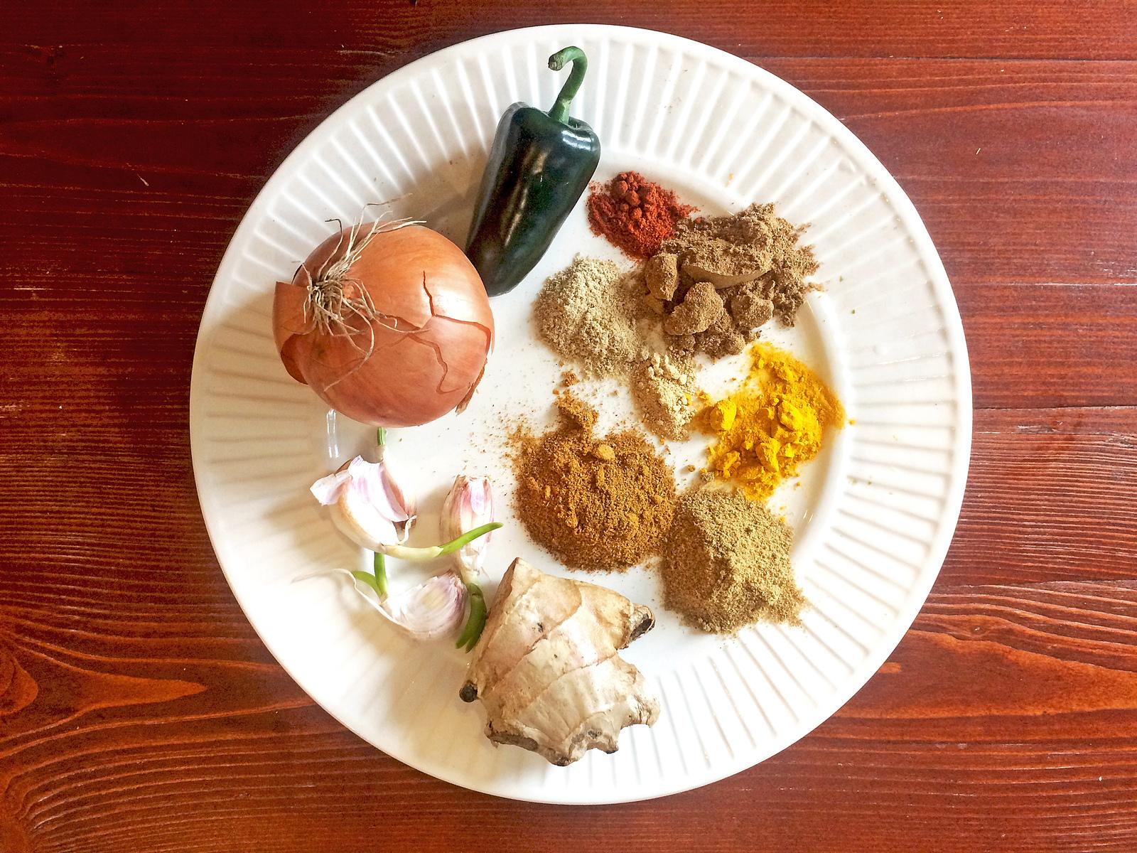 масала индийская кухня