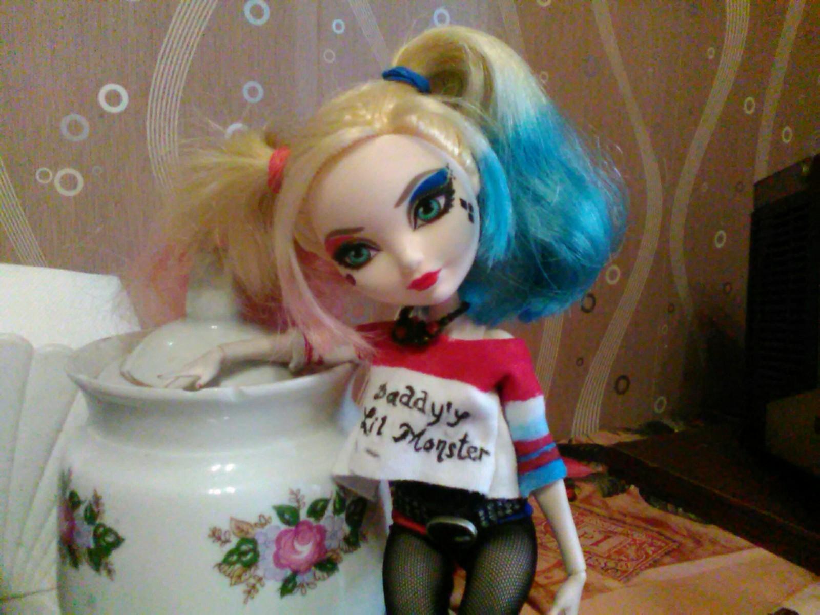 кукла харли квинн картинки