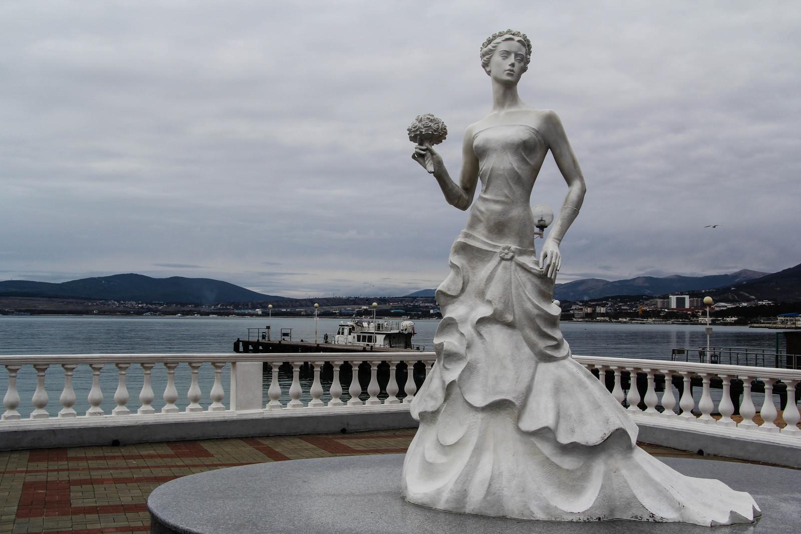 Геленджик белая невеста