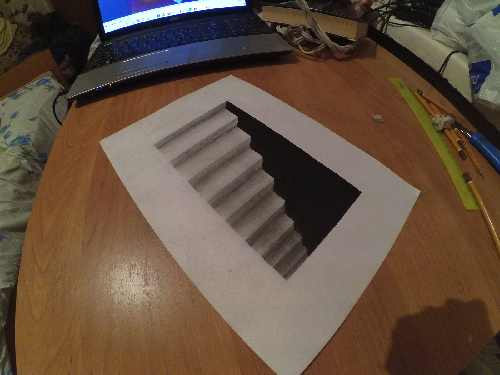 картинки как рисовать 3д