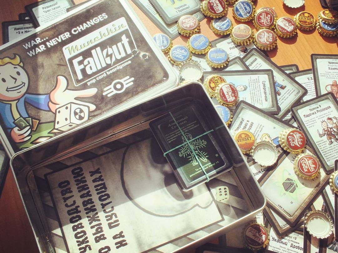 в карты в как fallout играть