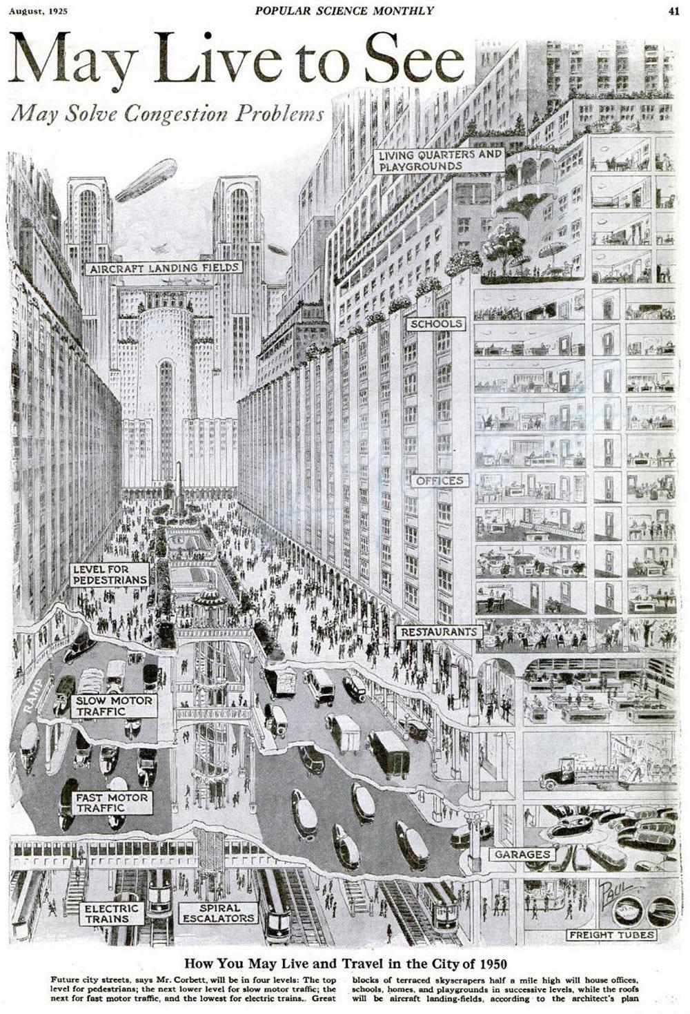 Жизнь в городах нас сводит с ума