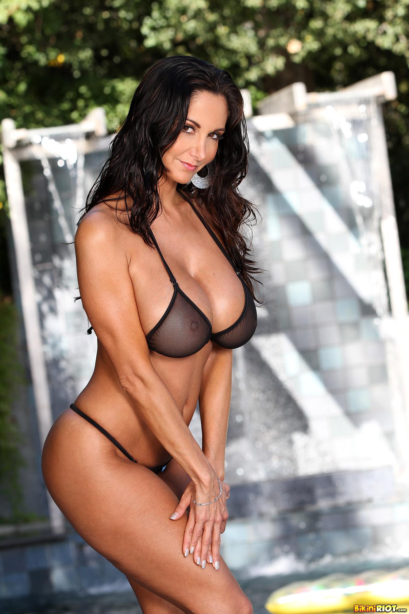ava addams bikini riot
