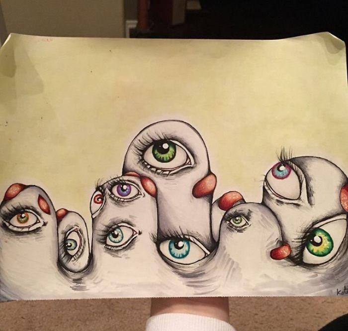рисунок шизофреника