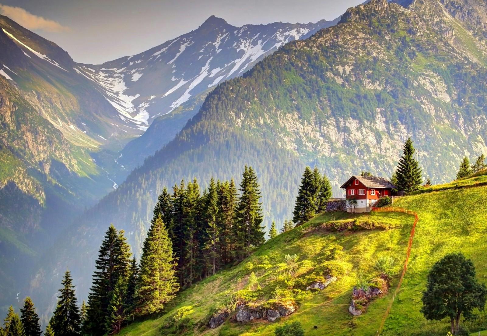 Домик в альпах купить квартиру в за границей