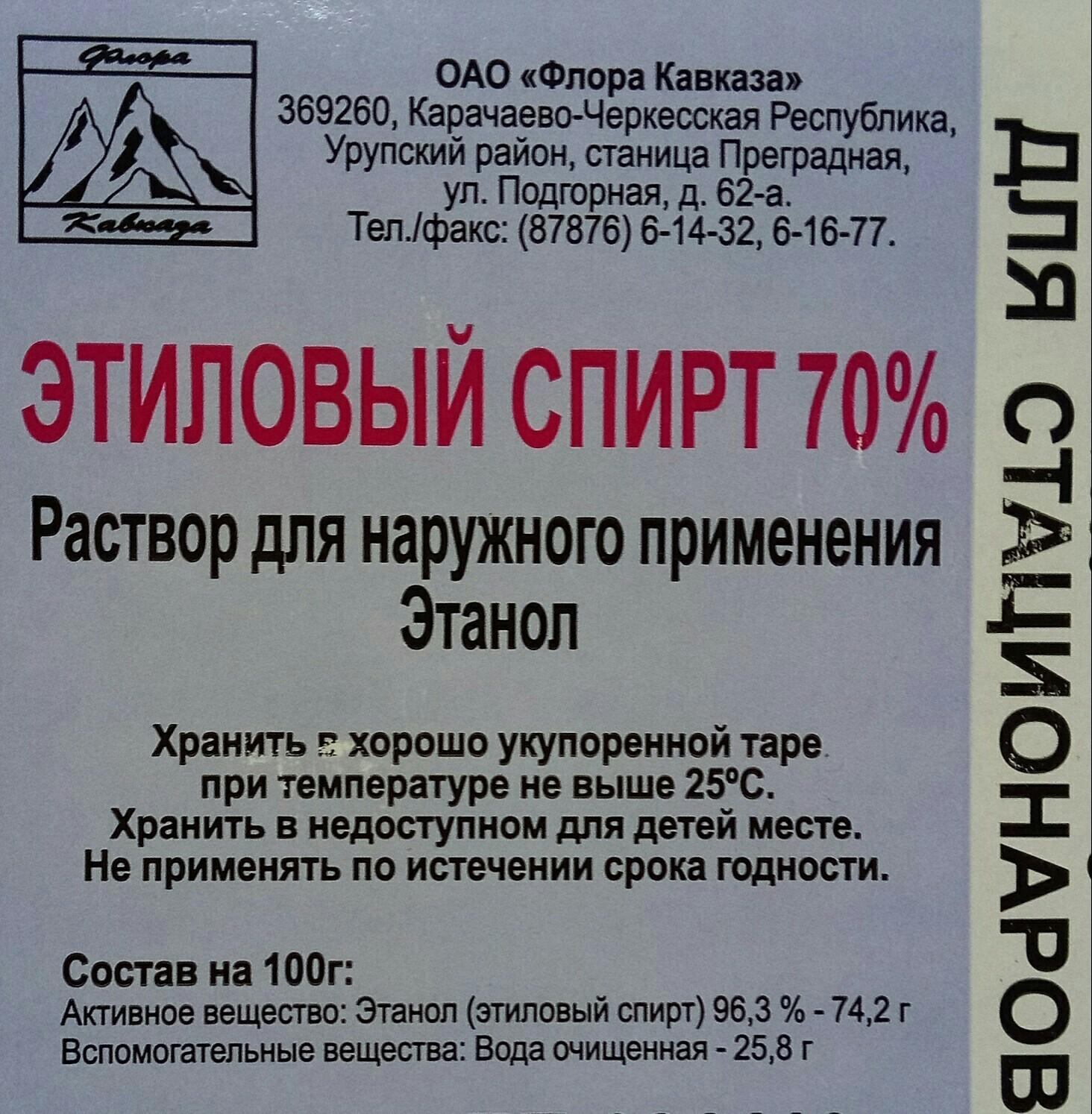 Как в России изготавливают этиловый спирт