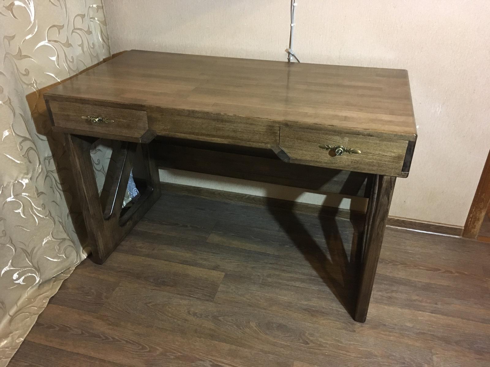Простой стол своими руками из дерева фото 133